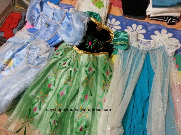Princess dresses not to be forgetten