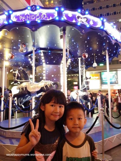 Pandora's Christmas Carousel