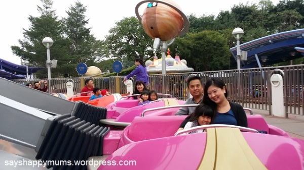 This is not a breeze of a ride at all. Notice that the gals are all in PINK cars!