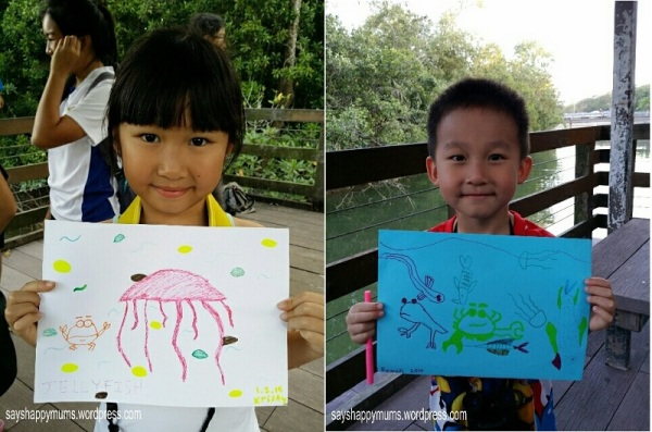 Their completed art work <3