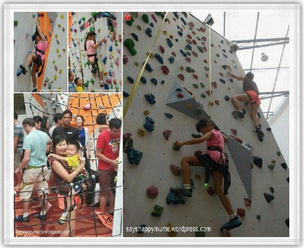 Auto-Belay system at Climb Central