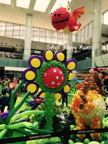 Marina Square Dinosaur Balloon Extravangaza