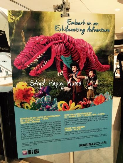 Dinosaur Balloon Extravaganza