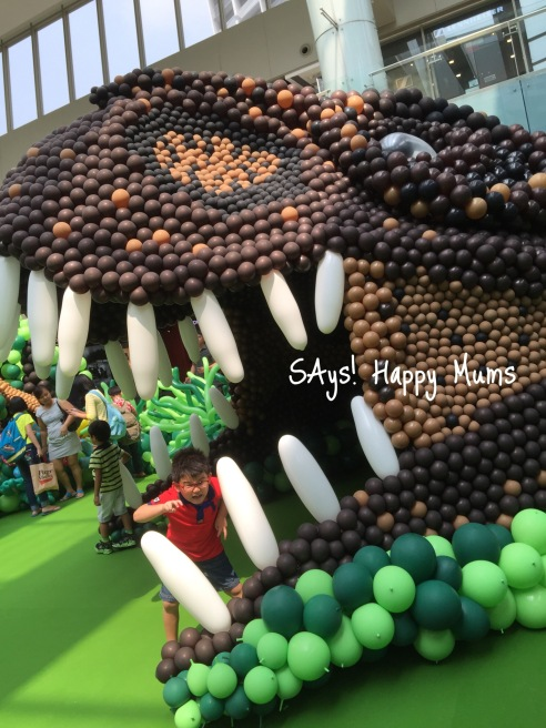 Marina Square Dinosaur Balloon Extravaganza