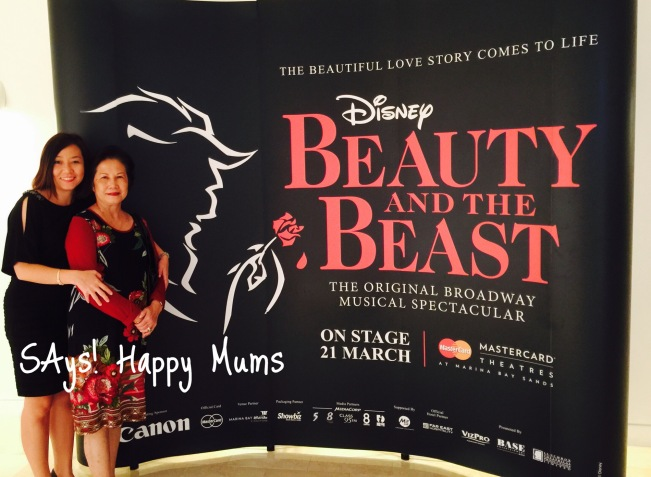 Disney's Beauty and the Beast at Marina Bay Sands MasterCard Theatres