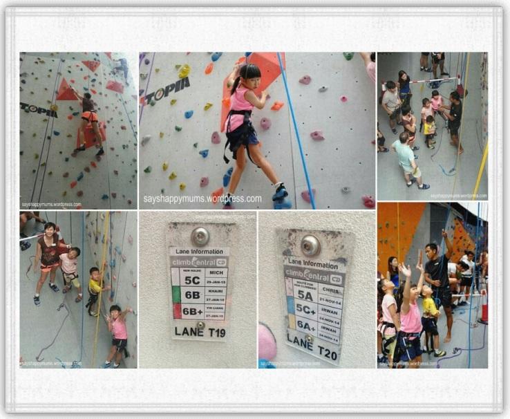 Parctice Climb - Belay