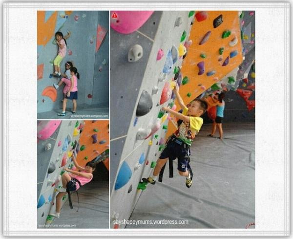 Pre-climb