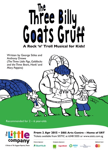 SRT's The Three Billy Goats Gruff