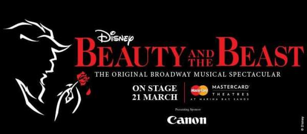 Disney's Beauty and the Beast @ the MasterCard Theatre Marina Bay Sands