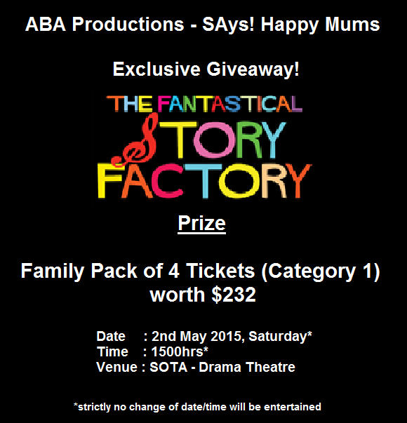 The Fantastical Story Factory Giveaway by SAys Happy Mums
