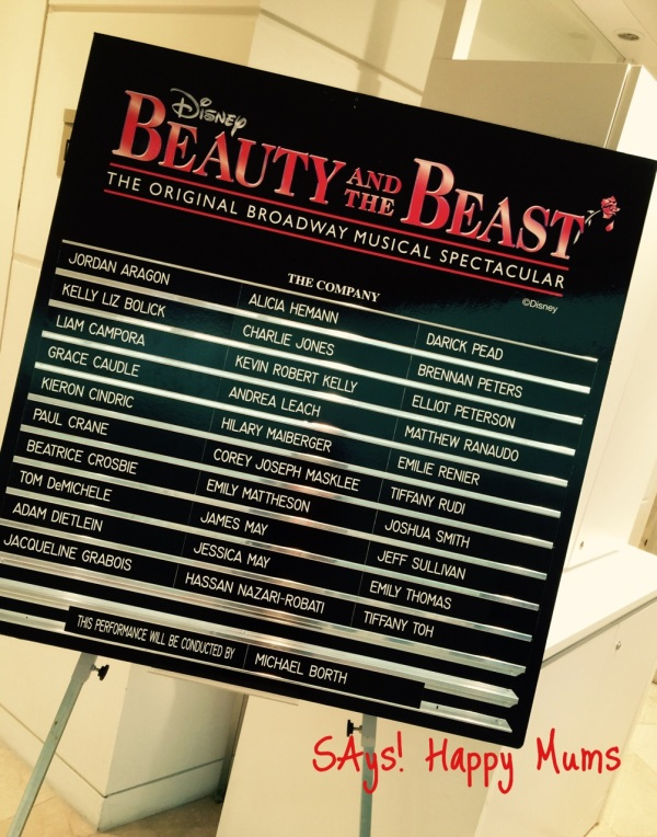 Beauty and the Beast - The Cast