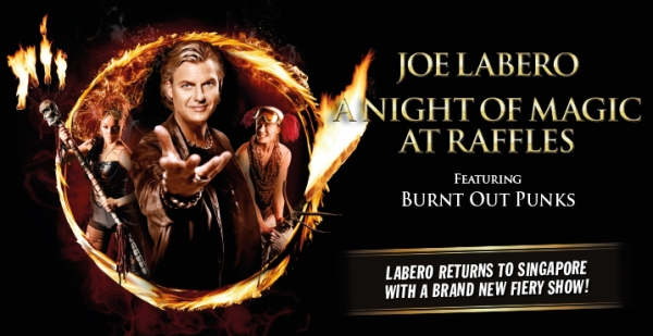 Joe Labero's A Night Of Magic at Raffles