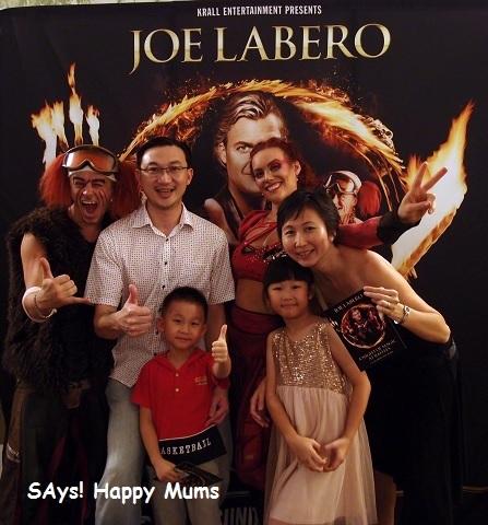 Joe Labero A Night of Magic At Raffles