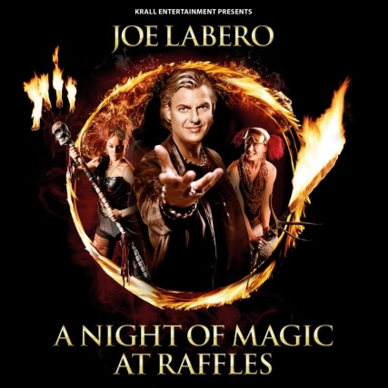Joe Labero A night of magic at raffles