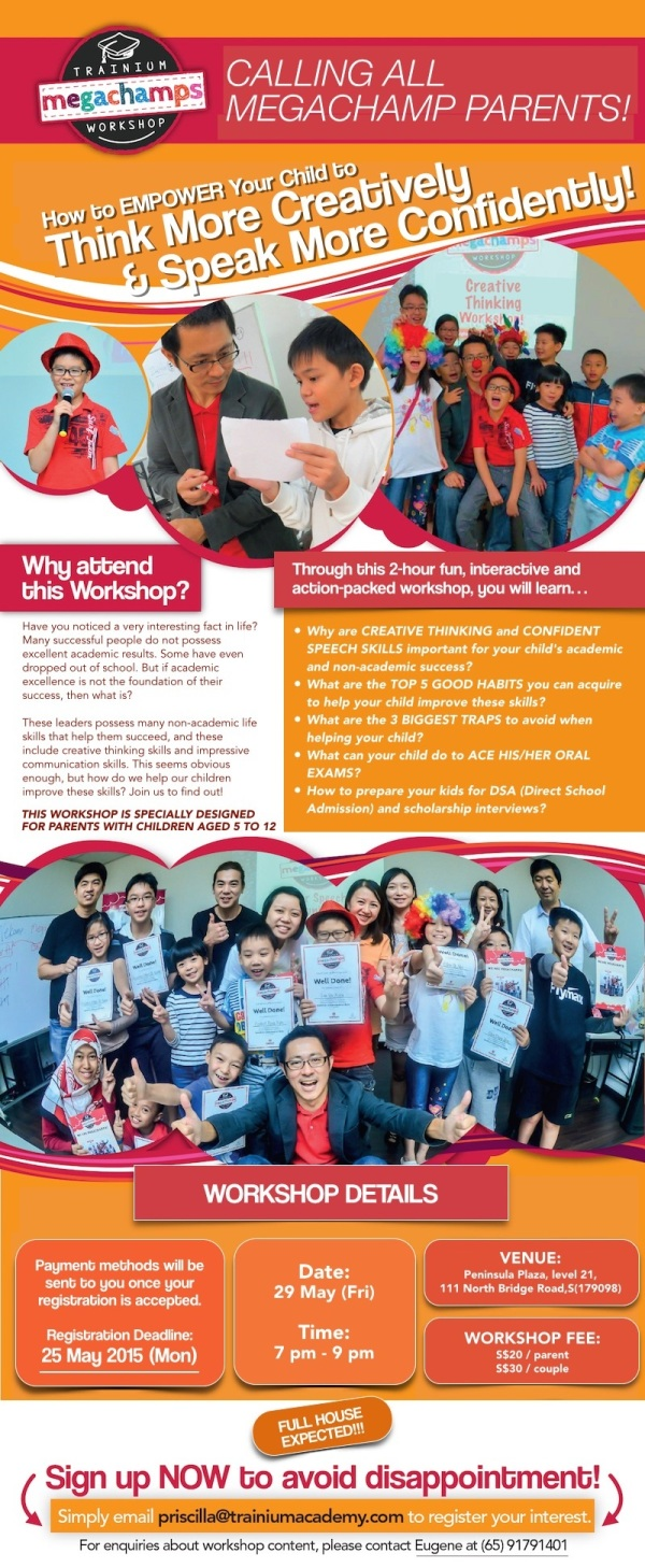 Megachamps Parenting Workshop