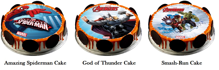 Swensen's Marvel Cakes - Age of Ultron Cakes