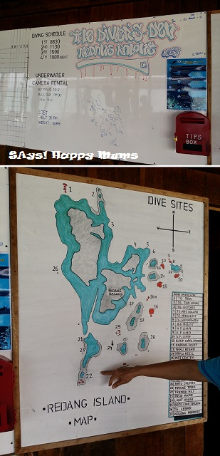 The Diver's Den & Dive Sites around Redang