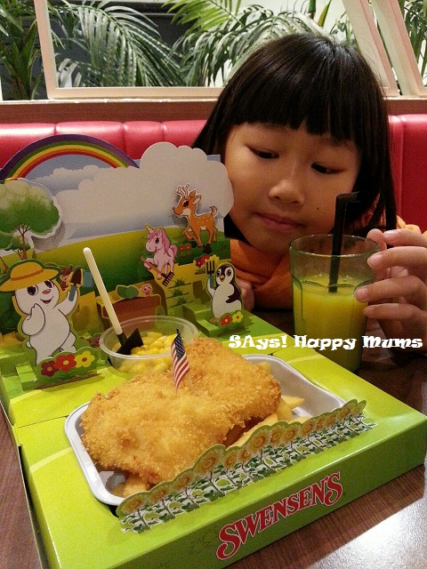 Swensen's Garden Kid's Meal