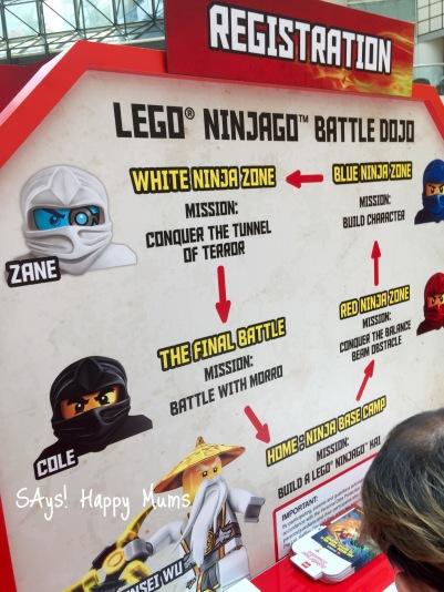 LEGO NINJAGO BATTLE DOJO