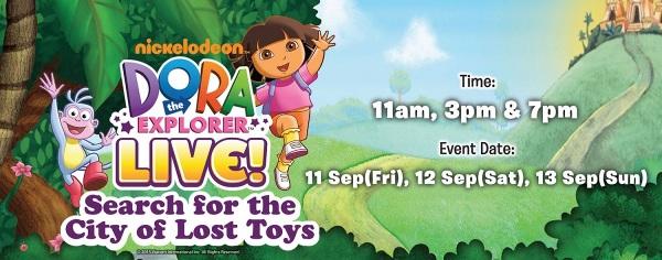 Dora the Explorer Live Musical
