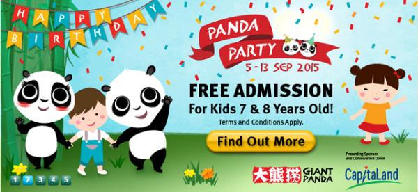 River Safari Panda Party 2015
