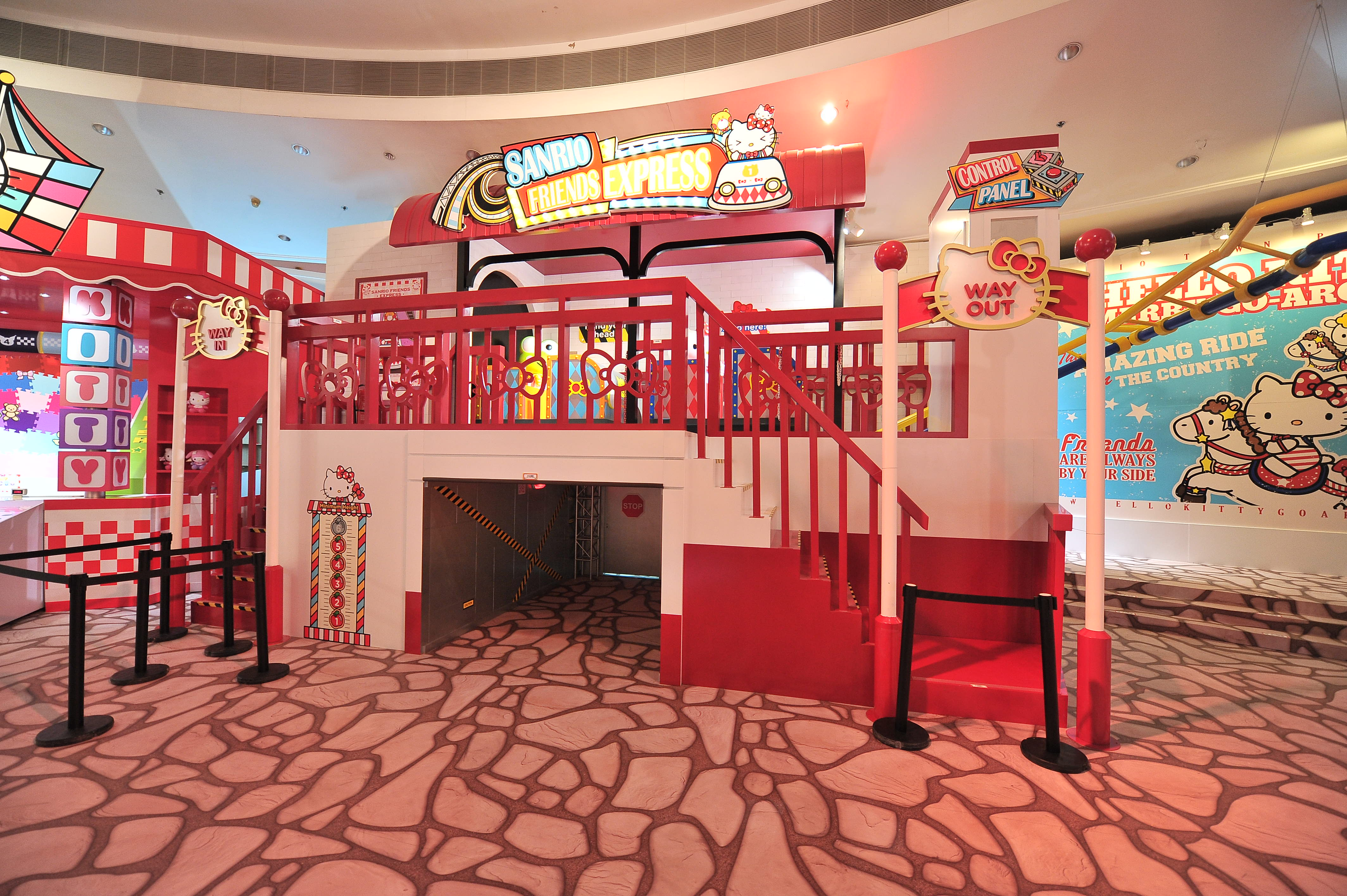 Walk Down Hello Kitty Memory Garden To Admire The Wonderful Collection Of Memorabilia Do You Know That Coin Purse Was VERY