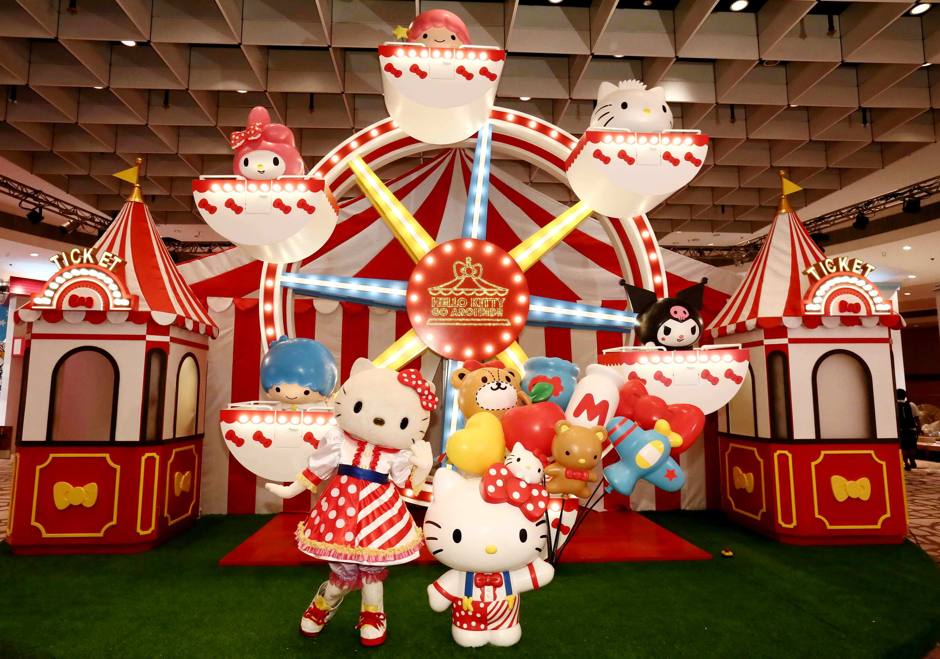 Get On Board The Sanrio Friend Express For A Fantasy Journey Through Theme Park