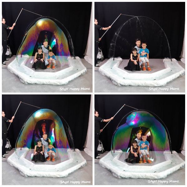 Fan Yang Bubble Show 2015