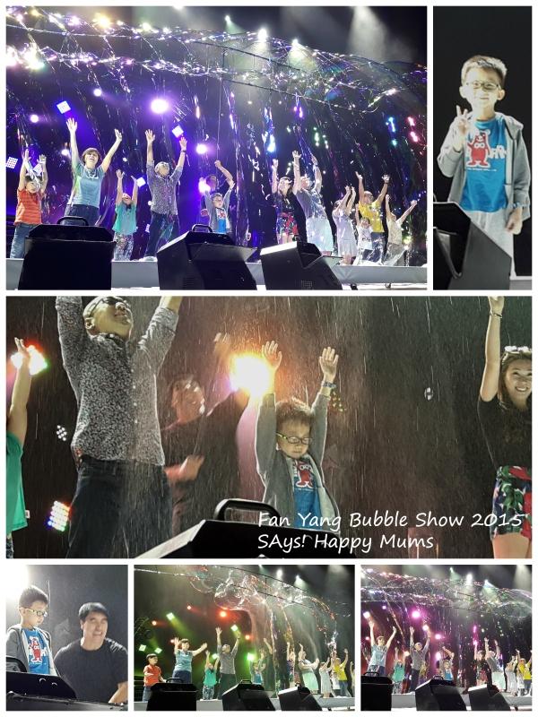 Fan Yang Legendary Bubble Show 2015