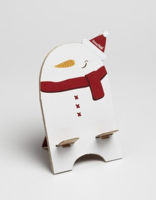 BreadTalk Christmas Log Cake Box_Phone Standee