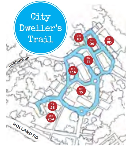 Dempsey City Dweller's Trail Map