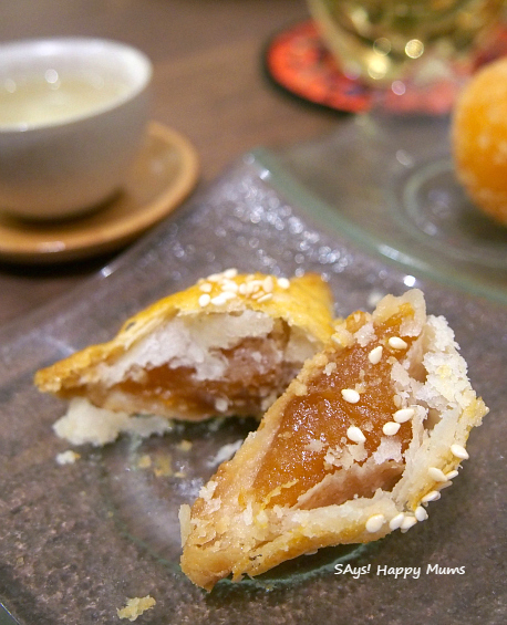 Tian Fu Tea Room Pan-fried New Year Cake