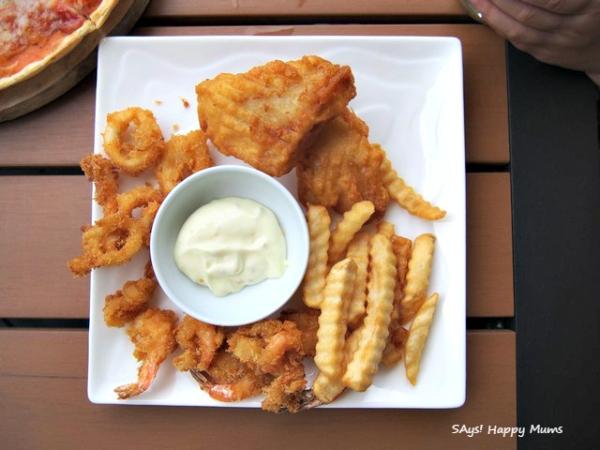 Seafood Platter (Rp 230,000)