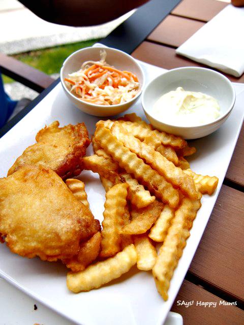 Bora Fish & Chips (Rp 160,000)