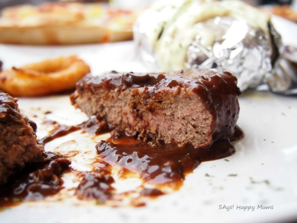 Tenderloin Steak with Baked Potato & Sauteed Onion