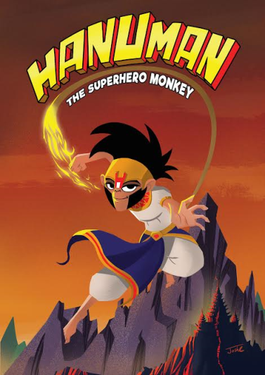 Hanuman The Superhero Monkey