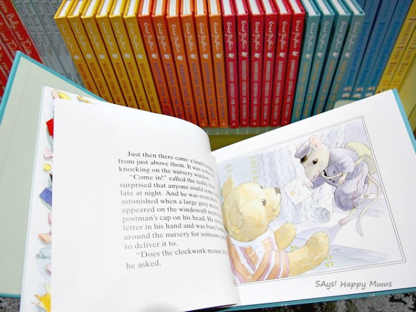 Check out this series of baby lit board books. Each one combines elements of classic story with an educational theme. Delightfully fabulous, these board books are sturdy with thick pages and easy for the little ones to flip through.
