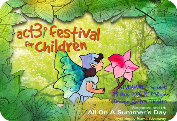 ACT 3i Festival for Children All On A Summer's Day Giveaway Image