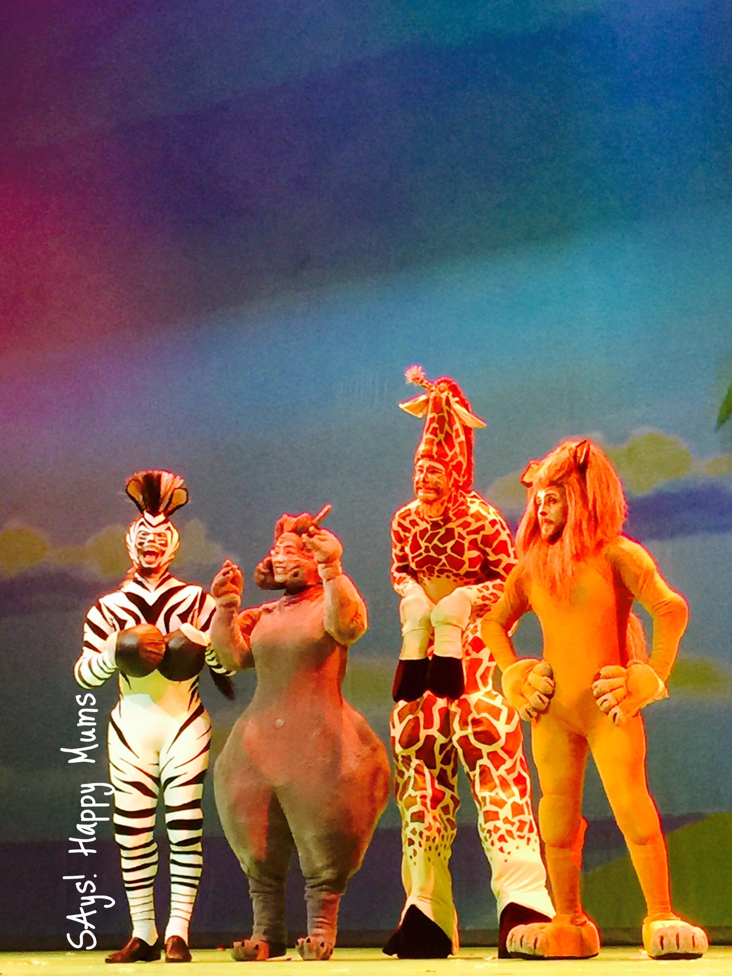 Review It S Time To Move It Move It At Madagascar Live