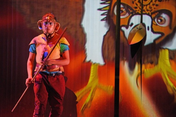 Zachary Ibrahim (2) as Hanuman in Hanuman - The Superhero Monkey