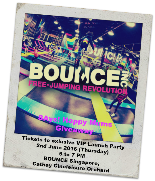 Bounce Giveaway