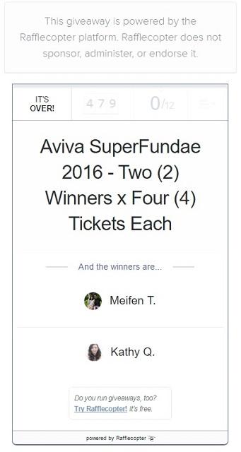 Aviva Superfundae 2016