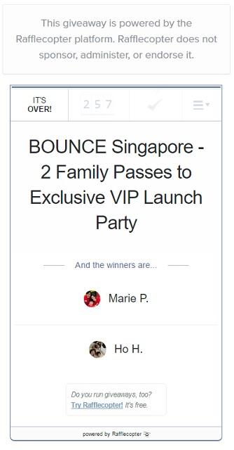 BOUNCE Singapore Trampoline