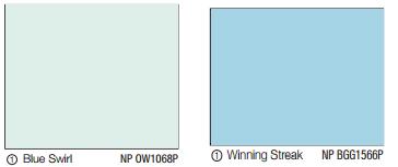 Interior Paint (Didi) - Blue Swirl NP OW1068P n Winning Streak NP BGG1566P