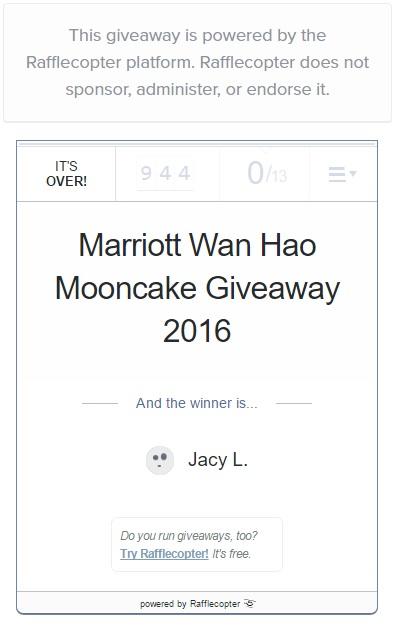 Marriott Mooncake