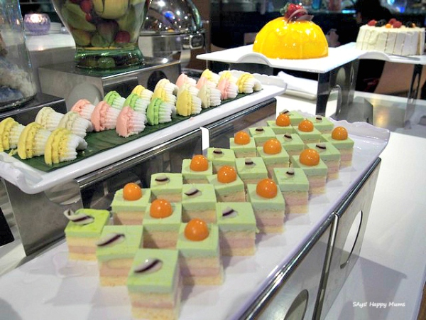 Putu Ayu and Dainty Green Tea Chestnut Cakes
